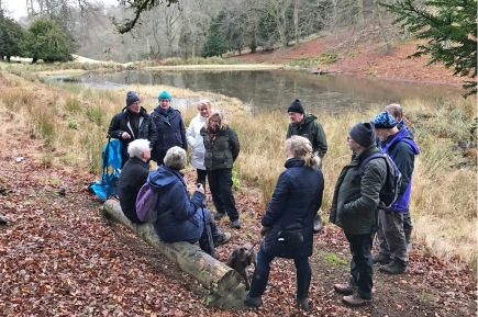 Jim Cowper passing on information about Hurley Pond